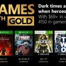 Ecco i giochi gratuiti dei Games with Gold a gennaio 2018