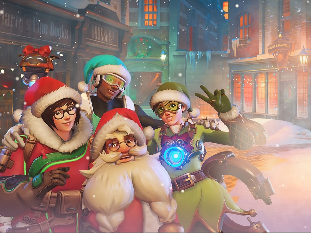 The best Christmas scenes in video games