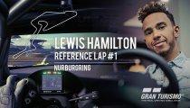 Gran Turismo Sport - Lewis Hamilton affronta il circuito di Nurburgring