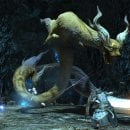 Final Fantasy XIV: il temibile Rathalos di Monster Hunter: World in arrivo quest'estate