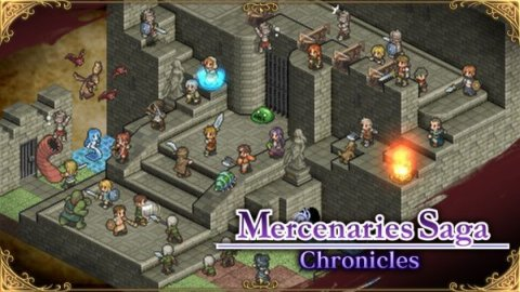 Mercenaries Saga Chronicles a febbraio su Switch in Europa
