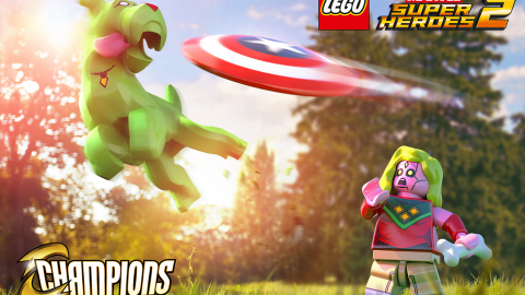 "Un video gameplay per il DLC di LEGO Marvel Super Heroes 2 intitolato ""Champions"""