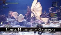 """Monster Hunter: World - Un video di gameplay dalle """"Coral Highlands"""""""