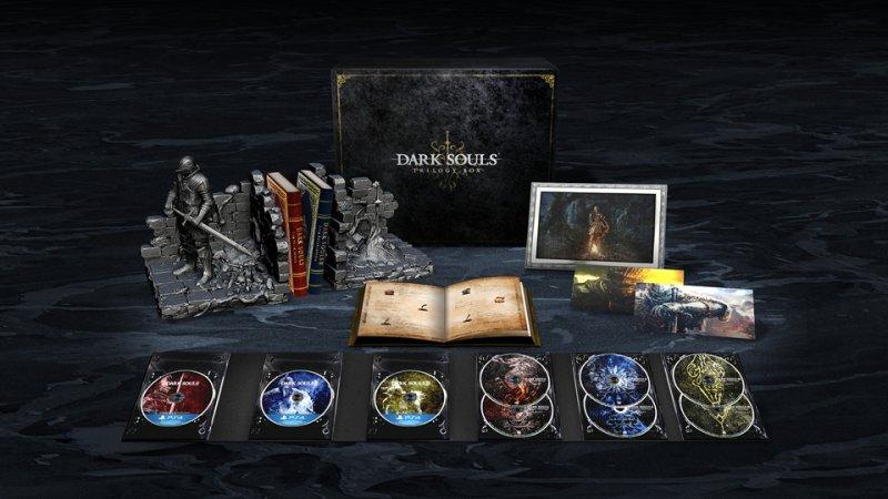 """In Giappone sarà presto possibile acquistare il cofanetto """"Dark Souls Trilogy Box"""" per PlayStation 4, che includerà tutti e tre i giochi"""