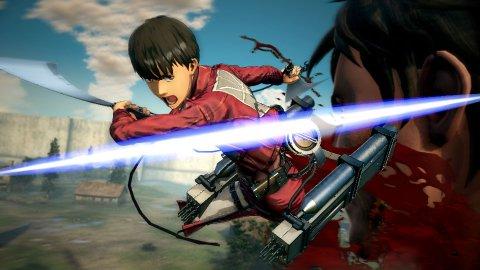 """Prime sequenze di gameplay per la versione Nintendo Switch di A.O.T. 2, il nuovo gioco tratto da """"L'Attacco dei Giganti"""""""