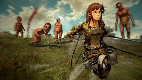 Altre immagini mostrano personaggi e momenti di gioco per A.O.T. 2, il nuovo gioco di Attack on Titan