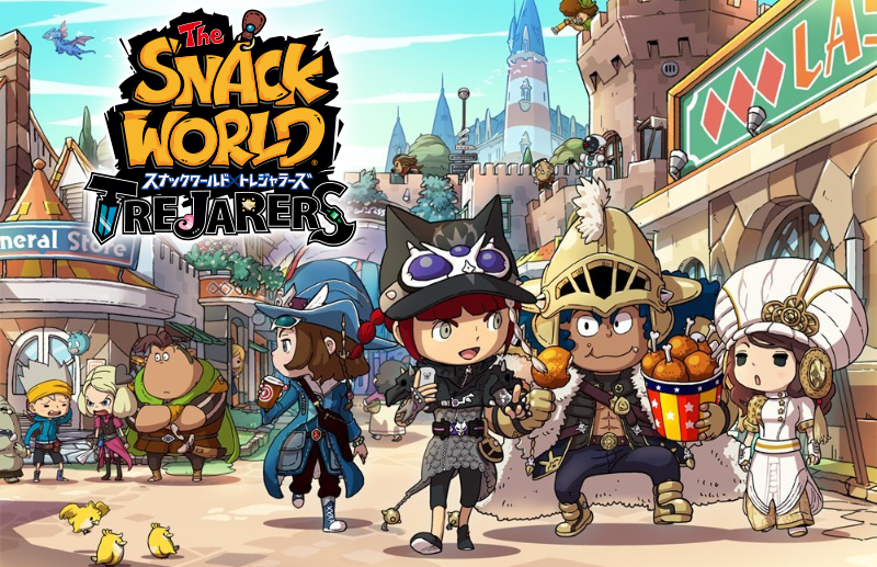 Level-5 porta The Snack World: Trejarers su Switch
