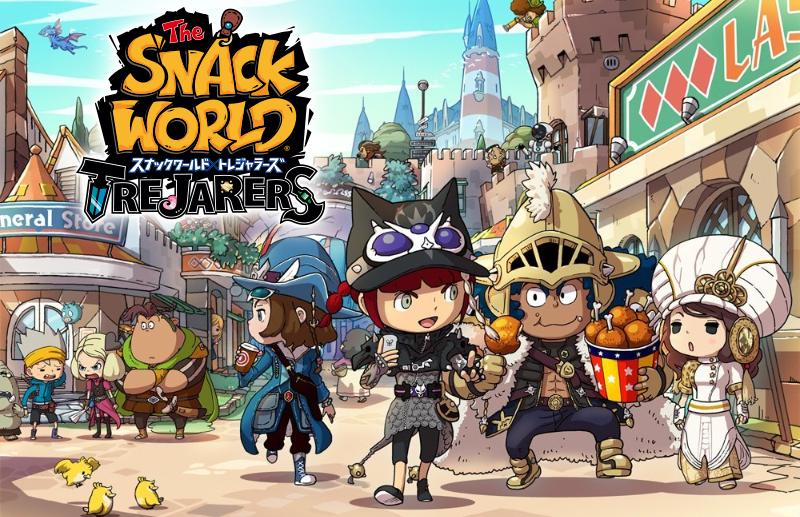 Trailer di lancio per The Snack World: Trejarers Gold in Giappone