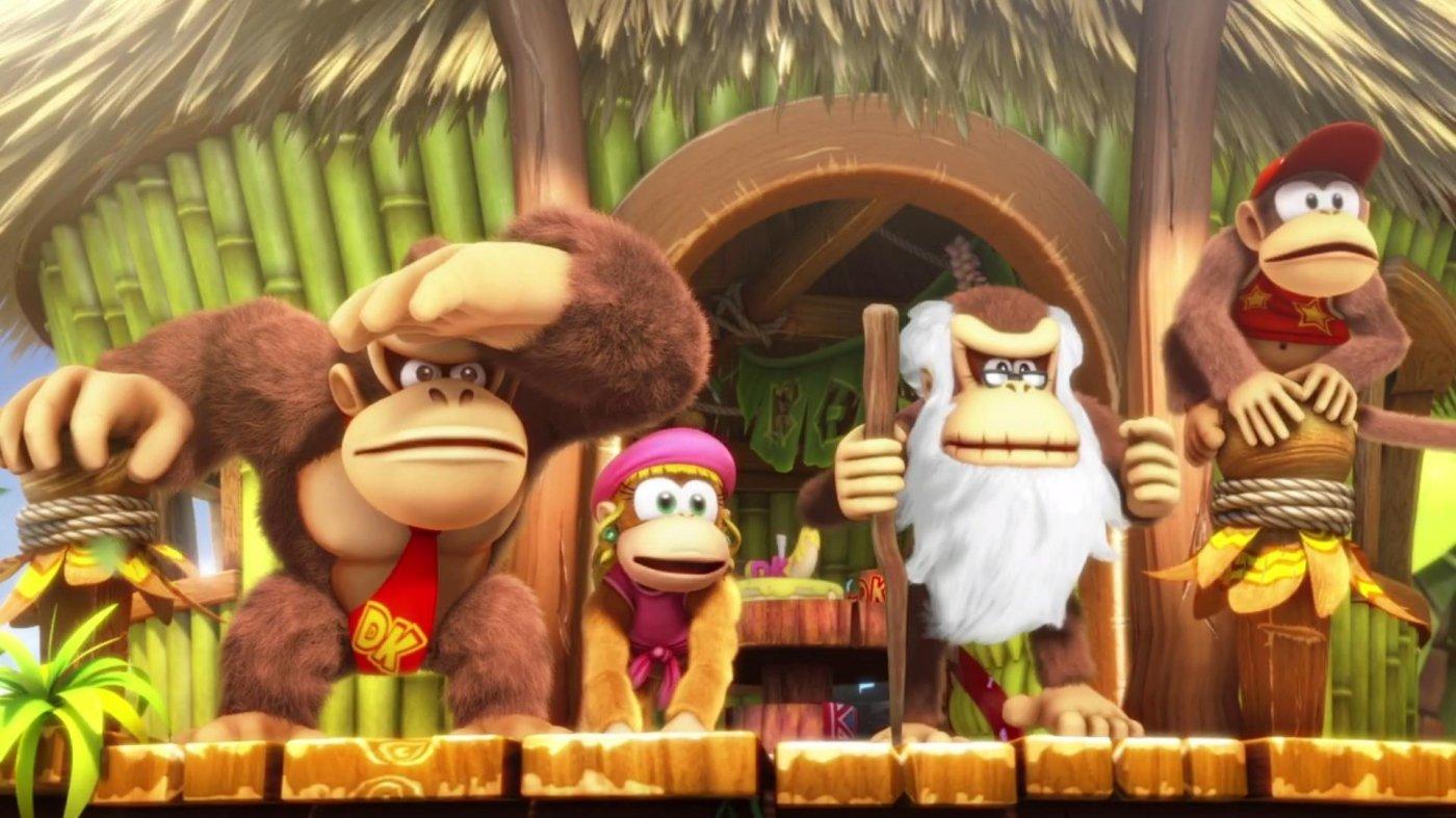Donkey Kong Country: Tropical Freeze, due nuovi trailer per la versione Nintendo Switch