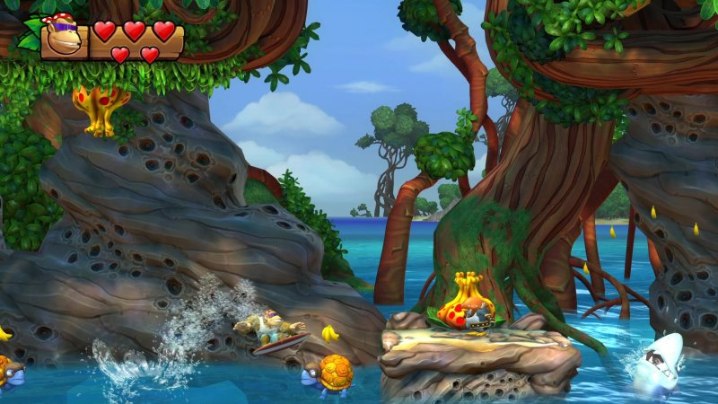 Il trailer di Donkey Kong Country: Tropical Freeze