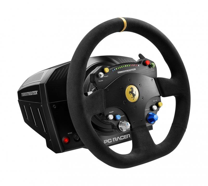 Thrustmaster annuncia il nuovo volante TS-PC Racer Ferrari 488 Challenge Edition