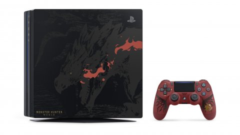 Sony lancerà una PlayStation 4 Pro in edizione limitata dedicata a Monster Hunter: World