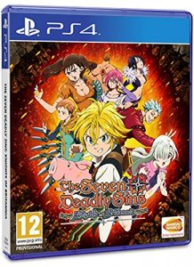 The Seven Deadly Sins: Knights of Britannia per PlayStation 4