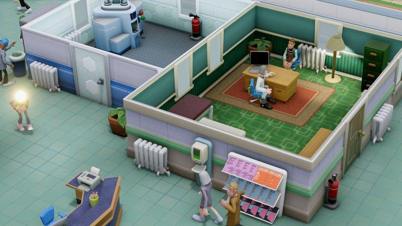 Two Point Hospital, il provato
