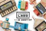 Ecco com'è nata l'idea di usare dei cartoncini per Nintendo Labo
