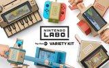 """Nintendo Labo: i """"Cartoni Animati"""" di Switch - Anteprima"""