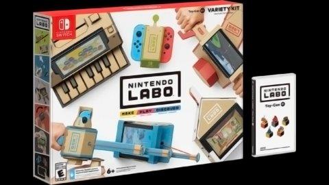 Ecco quali saranno i contenuti dei due kit di lancio di Nintendo Labo