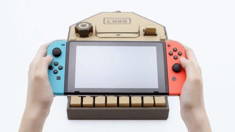 Nintendo Labo: un'idea meravigliosa o il cartoncino più costoso della storia?