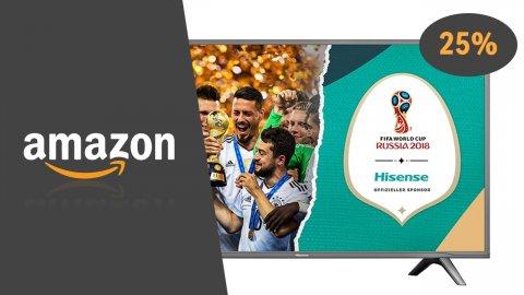 Tra le promozioni di oggi su Amazon troviamo giochi e accessori console, TV Hisense 4K, DAC SoundBlaster