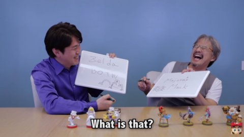 Yoshiaki Koizumi ed Eiji Aonuma di NIntendo ci regalano un simpatico siparietto