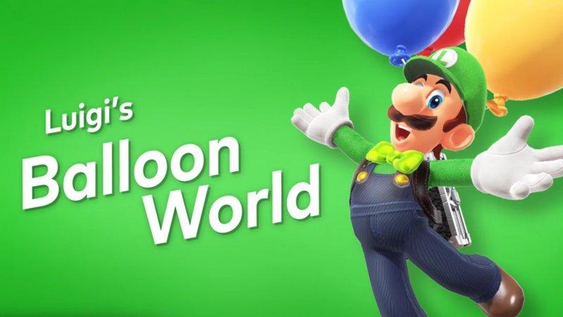 Super Mario Odyssey si aggiorna con il Balloon World di Luigi