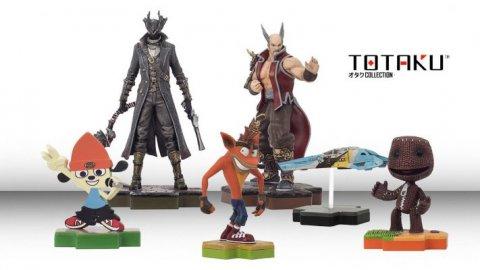 Dopo gli amiibo arrivano i Totaku: le statuette sui personaggi legati al mondo PlayStation