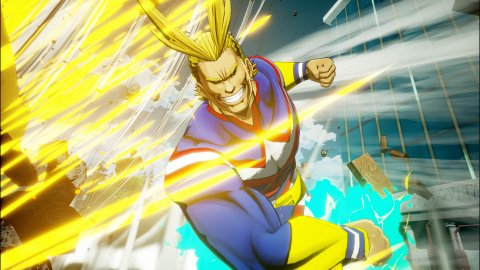 All Might si unisce al cast di My Hero Academia: One's Justice