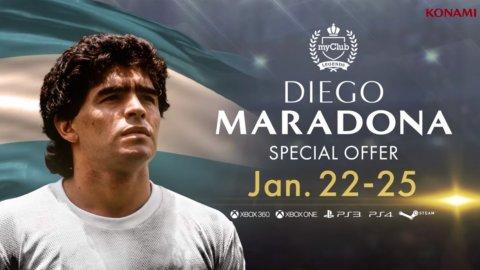 Dalla guerra all'amore: in Pro Evolution Soccer 2018 arriva Diego Armando Maradona