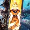 Scontro fra Dragon Ball FighterZ e Monster Hunter: World per il gioco del mese di gennaio