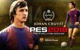 Johan Cruyff, la leggenda del calcio olandese, torna in campo con Pro Evolution Soccer 2018 - Video