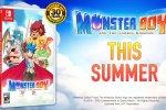 Monster Boy and the Cursed Kingdom arriva anche in versione fisica su Switch, con la collaborazione di Sega