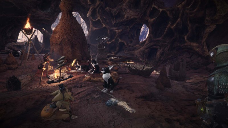 Monster Hunter World, dove trovare i Grimalkyne