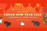 Sono iniziati i saldi di Steam per il nuovo Anno Lunare