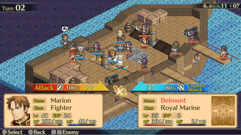 La recensione di Mercenaries Saga Chronicles
