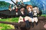 Altri carri armati e altre ragazze nel nuovo trailer di Girls und Panzer, incentrato sull'University Selection