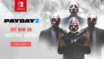 Payday 2 - Il trailer di lancio della versione Nintendo Switch