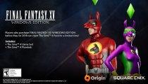 Final Fantasy XV: Windows Edition - Il video con i costumi nati dalla collaborazione con The Sims 4