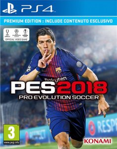 Pro Evolution Soccer 2018 (PES 2018) per PlayStation 4
