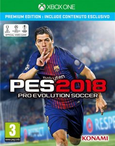 Pro Evolution Soccer 2018 (PES 2018) per Xbox One