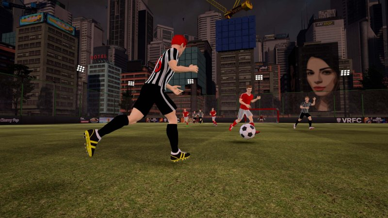 La recensione di VRFC: Virtual Reality Football Club