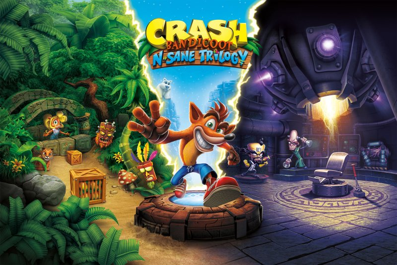 Crash Bandicoot N. Sane Trilogy confermato anche per PC e Xbox One