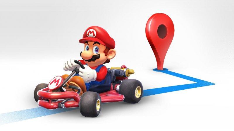 Il Super Mario Day si festeggia anche su Google Map con una personalizzazione a tema Mario Kart