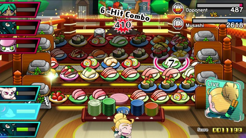 Sushi Striker: The Way of Sushido, video recensione