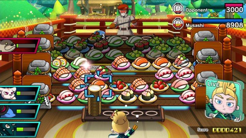 Sushi Striker: la recensione