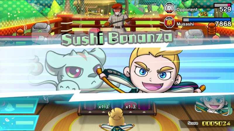 Un trailer illustra la strana storia di Sushi Striker: The Way of Sushido