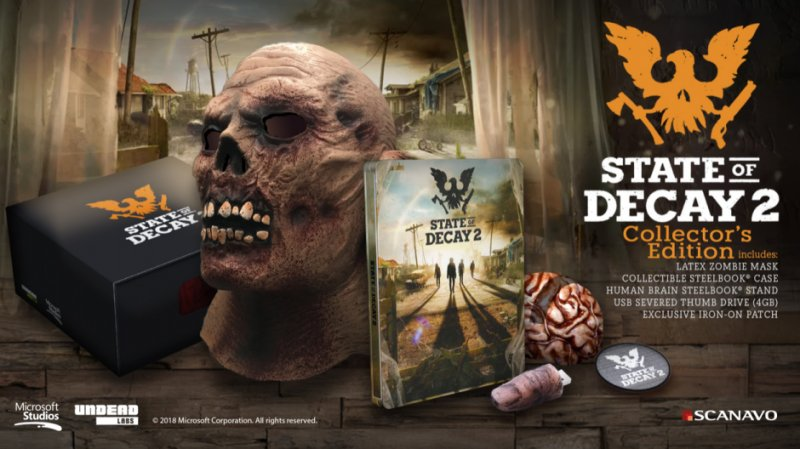Svelata la Collector's Edition di State of Decay 2