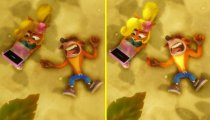 Crash Bandicoot N Sane Trilogy - Video confronto tra la versione PlayStation 4 Pro e quella Nintendo Switch