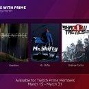 Twitch lancerà il servizio Free Games With Prime il 15 marzo