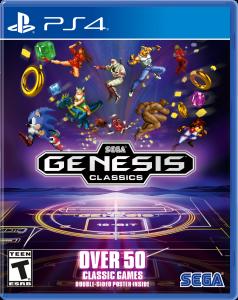 SEGA Mega Drive Classics per PlayStation 4