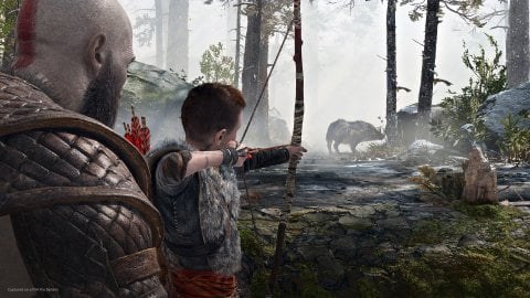 God of War Ragnarok: artist speculates what it might be like to play as Atreus